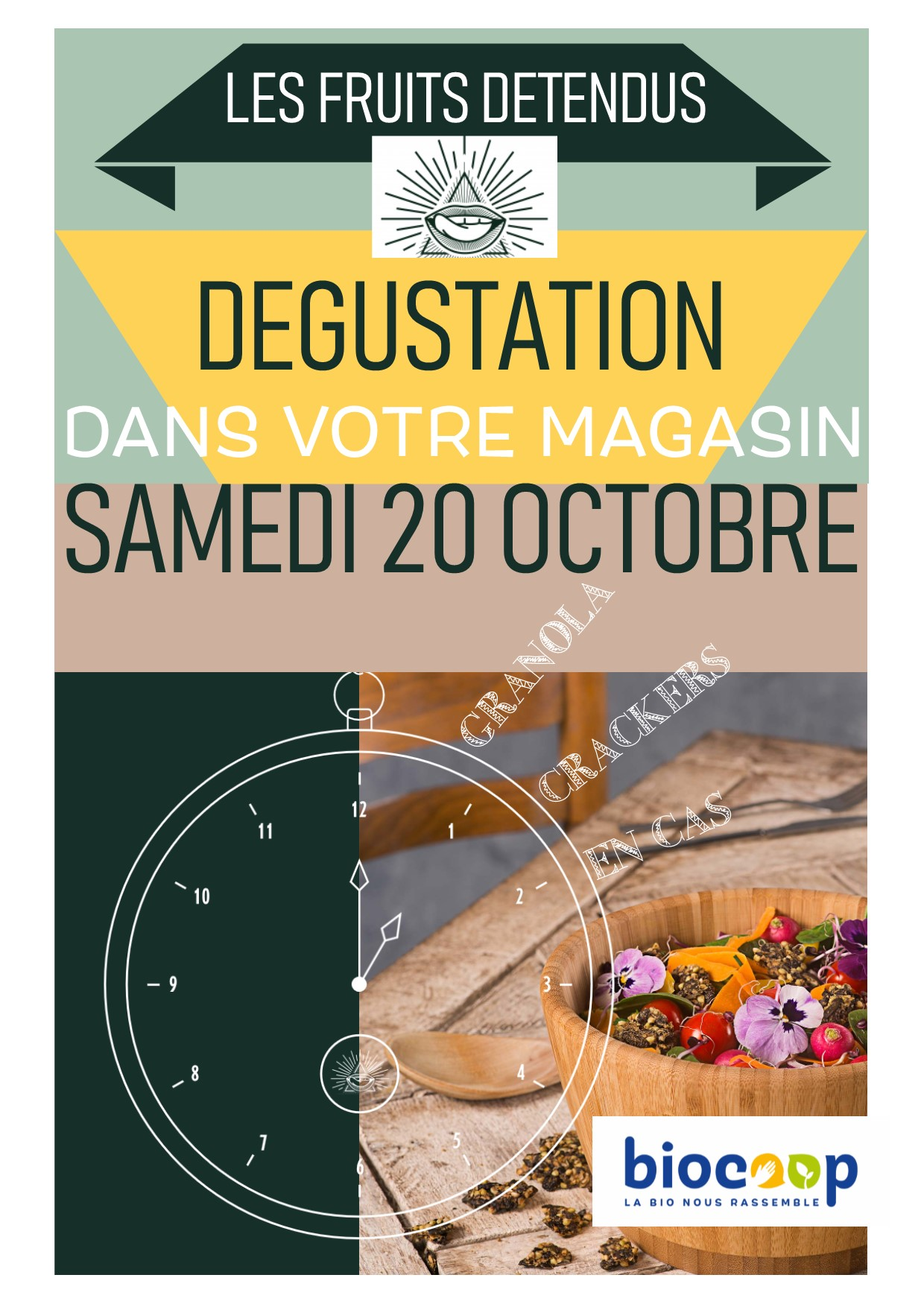 DEGUSTATION INCROYABLE DE FRUITS DETENDUS !